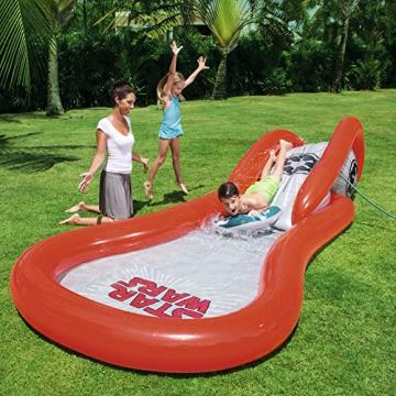 Bestway Star Wars Pool mit Wasserrutsche, Space Slide, ab 2 Jahren, 381 x 175 x 69 cm - 2