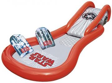 Bestway Star Wars Pool mit Wasserrutsche, Space Slide, ab 2 Jahren, 381 x 175 x 69 cm - 1