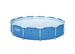 Bestway Steel Pro Frame Pool ohne Pumpe, rund 366x76cm Stahlrahmenpool, blau - 1