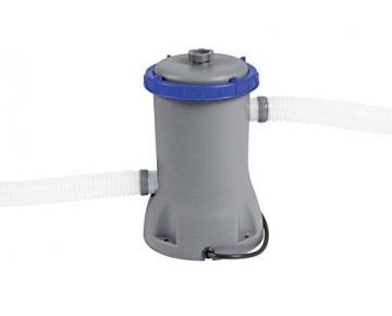 Bestway Steel Pro Frame Pool Set rund, mit filterpumpe und Leiter, 366 x 100 cm, blau - 4