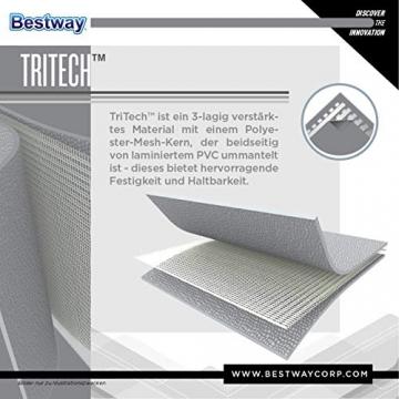 Bestway Steel Pro Frame Pool Set rund, mit filterpumpe und Leiter, 366 x 100 cm, blau - 8