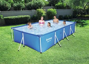 Bestway Steel Pro Frame rechteckig Pool, ohne Pumpe, blau, 400 x 211 x 81 cm - 3