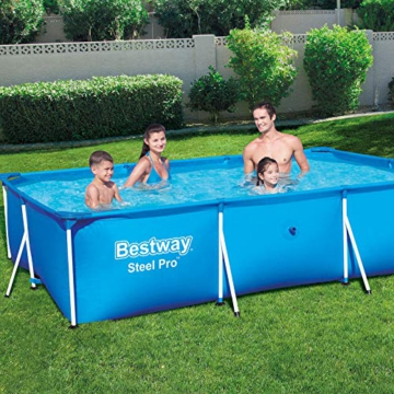 Bestway Steel Pro Framepool ohne Pumpe, eckig, 300 x 201 x 66 cm - 2