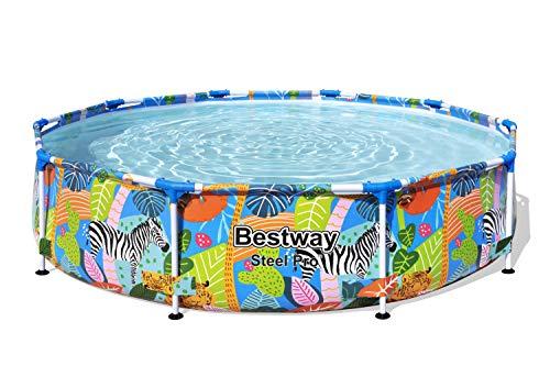 Bestway Steel Pro Framepool ohne Pumpe, rund, 305 x 66 cm Pool, blau - 5