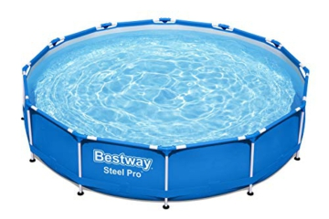Bestway Steel Pro Framepool ohne Pumpe, rund, 366 x 76 cm Pool, Blau - 7