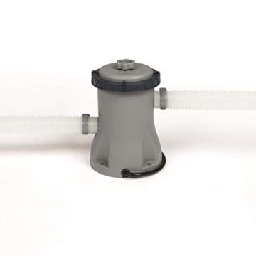 Bestway Steel Pro Max Frame Pool Komplettset Deluxe, rund, Rattan-Optik, 366 x 100 cm - 5