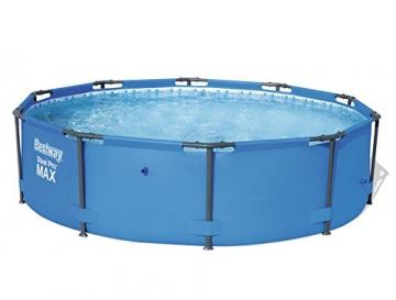 Bestway Steel Pro MAX, Frame Pool rund mit stabilem Stahlrahmen, 305x305x76 cm - 1