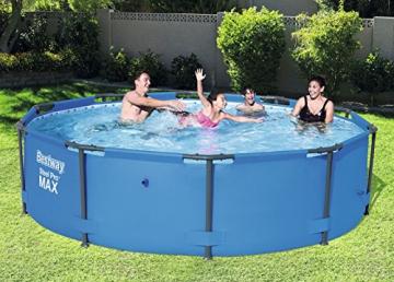 Bestway Steel Pro MAX, Frame Pool rund mit stabilem Stahlrahmen, 305x305x76 cm - 3