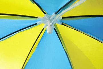 Bestway Steel Pro UV Careful Stahlrahmenpool ohne Pumpe mit Sonnenschutzdach Splash-in-Shade 244 x 51 cm Pool, multi - 6