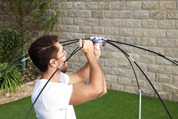 Bestway Steel Pro UV Careful Stahlrahmenpool ohne Pumpe mit Sonnenschutzdach Splash-in-Shade 244 x 51 cm Pool, multi - 10