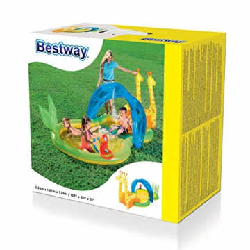 Bestway Zoo Pool Play Center, Planschbecken 338x167x129 cm - 3