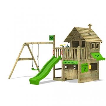 CountryCow Maxi Spielturm Kletterturm Schaukel Baumhaus -
