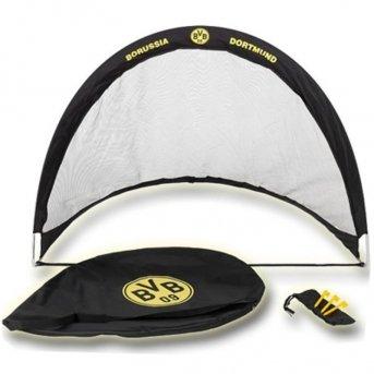 EXIT FLEXX POP-UP GOAL Fußballtor Borussia Dortmund 40.49.09.00 / Falttor / Maße: 120x87x90 cm / Gewicht: 500g -