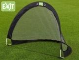 EXIT FLEXX POP-UP GOAL Fußballtor im schwarzem Exit Toys Design 40.00.01.00 / Falttor / Maße: 120 x 87 x 90 cm / Gewicht: 500g -