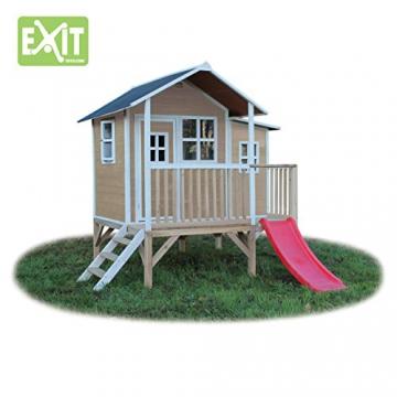 EXIT Loft 350 Holzspielhaus - Naturel - 2