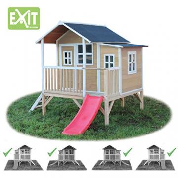 EXIT Loft 350 Holzspielhaus - Naturel - 3