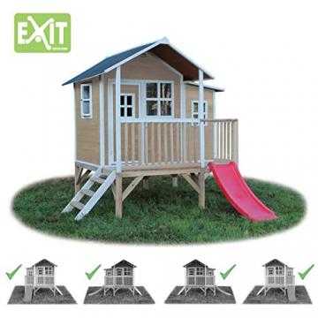 EXIT Loft 350 Holzspielhaus - Naturel - 4