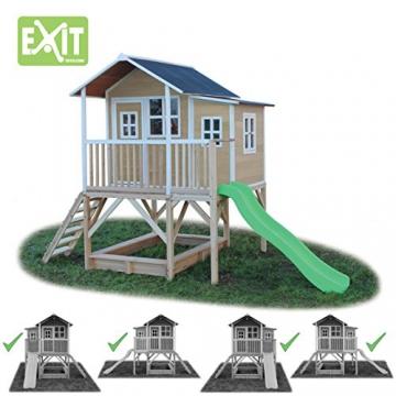 EXIT Loft 550 Holzspielhaus - Naturel - 3
