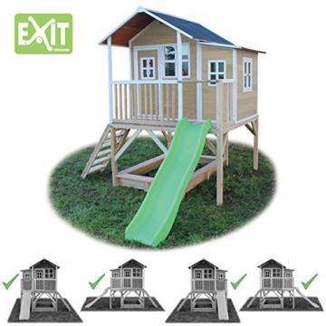 EXIT Loft 550 Holzspielhaus - Naturel - 5