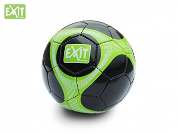 EXIT Maestro Goal 41.03.10.00 + Ball 45.80.05.00 / Maestro Fußballtor inkl. Torwand + Ball / Maße - Tor: 180cm x 120cm x 60cm + Ball Größe -