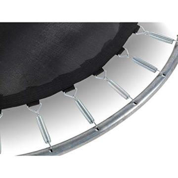EXIT Silhouette Trampolin ø244cm - schwarz - 3