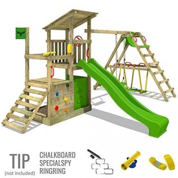 Fatmoose kletterturm fruityforest fun xxl kletterger st for Gartenpool mit rutsche
