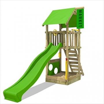 Fatmoose spielturm magicmarket master xxl kletterturm for Gartenpool mit rutsche