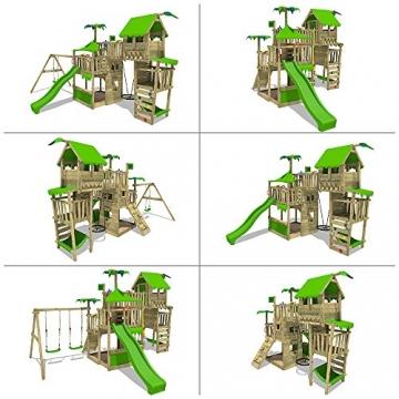 Fatmoose spielturm tropictemple tall xxl kletterturm for Gartenpool 3 meter