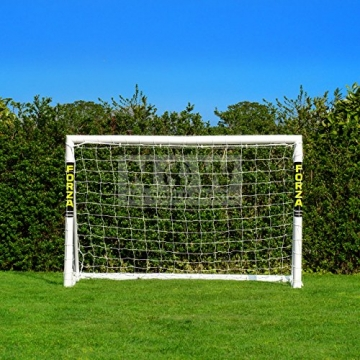 FORZA - 1,8 x 1,2 m wetterfestes Fußballtor. Neu: auch mit abnehmbarer Torwand bestellbar! [Net World Sports] (Forzator 1.8x1.2m mit Torwand) - 2