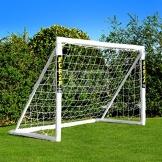 FORZA - 1,8 x 1,2 m wetterfestes Fußballtor. Neu: auch mit abnehmbarer Torwand bestellbar! [Net World Sports] (Forzator 1.8x1.2m mit Torwand) - 1