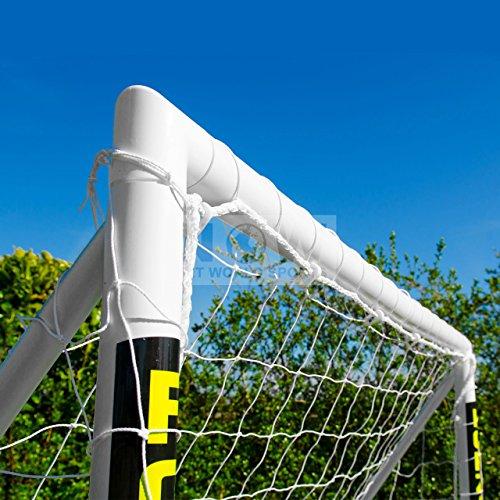 FORZA - 1,8 x 1,2 m wetterfestes Fußballtor. Neu: auch mit abnehmbarer Torwand bestellbar! [Net World Sports] (Forzator 1.8x1.2m mit Torwand) - 3