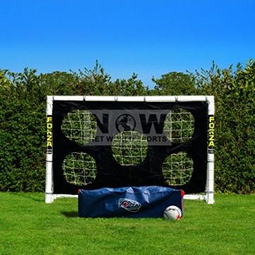 FORZA - 1,8 x 1,2 m wetterfestes Fußballtor. Neu: auch mit abnehmbarer Torwand bestellbar! [Net World Sports] (Forzator 1.8x1.2m mit Torwand) - 4