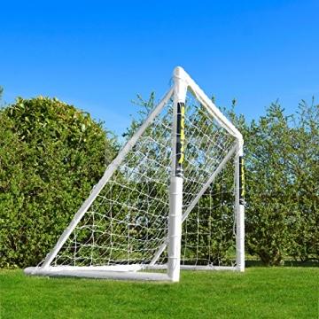 FORZA - 1,8 x 1,2 m wetterfestes Fußballtor. Neu: auch mit abnehmbarer Torwand bestellbar! [Net World Sports] (Forzator 1.8x1.2m mit Torwand) - 8
