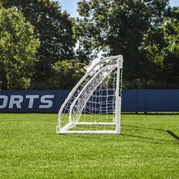 FORZA Match - 1,5 x 1,2 m wetterfestes Fußballtor. Neu: auch mit abnehmbarer Torwand bestellbar! [Net World Sports] (Forza Match 1.5x1.2m) - 2