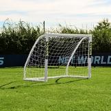 FORZA Match - 1,5 x 1,2 m wetterfestes Fußballtor. Neu: auch mit abnehmbarer Torwand bestellbar! [Net World Sports] (Forza Match 1.5x1.2m) - 1