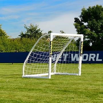 FORZA Match - 1,5 x 1,2 m wetterfestes Fußballtor. Neu: auch mit abnehmbarer Torwand bestellbar! [Net World Sports] (Forza Match 1.5x1.2m) - 3