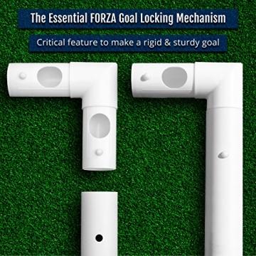 FORZA Match - 1,5 x 1,2 m wetterfestes Fußballtor. Neu: auch mit abnehmbarer Torwand bestellbar! [Net World Sports] (Forza Match 1.5x1.2m) - 6