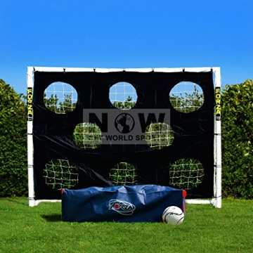 FORZA - wetterfestes Fußballtor 2,4 x 1,8 m [Net World Sports] (1. Forza Klicktor 2.4 x 1.8m) - 4