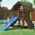 Fungoo Spielturm Buffalo mit blauer Rutsche, 03610 - 1