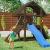 Fungoo Spielturm Buffalo mit blauer Rutsche, 03610 - 2