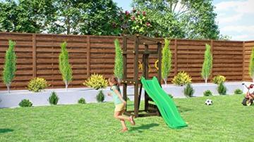 Fungoo Spielturm Molly mit grüner Rutsche 170cm, 03480 - 3