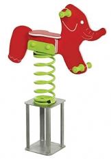 Gartenpirat Federwippe Wipptier Elefant Gartenwippe für Kinder - 1