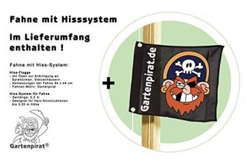 Gartenpirat Spielturm Kletterturm Pirat T1 mit Schaukel und Rutsche - 7