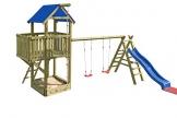 Gartenpirat Spielturm Navigator mit Schaukel und Rutsche - 1