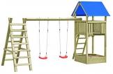 Gartenpirat Spielturm Premium XL mit Schaukel und Sandkasten - 1