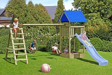 Gartenpirat Spielturm Premium XL mit Schaukel und Sandkasten - 4