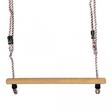 Gartenpirat Trapez Holztrapez für Schaukel Kinder - 1