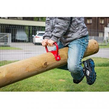 Gartenpirat Wippe Balkenwippe aus Holz für den Garten mit Balken 285 cm - 2