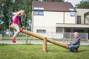Gartenpirat Wippe Balkenwippe aus Holz für den Garten mit Balken 285 cm - 3