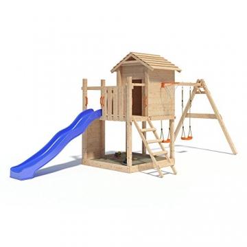 Gigantico Spielturm Kletterturm Baumhaus Rutsche Schaukeln (einfacher Schaukelanbau) -